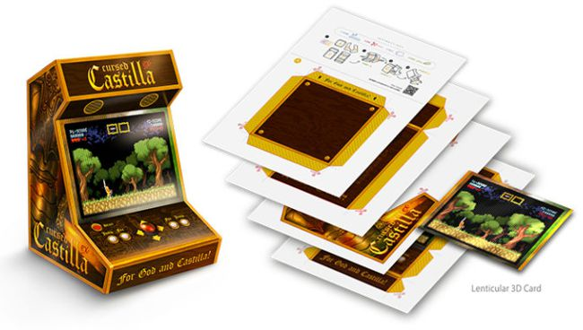 Arcade Cut-Out Cursed Castilla for Nintendo Switch. Special Edition with Collector's Set in Abylight Shop