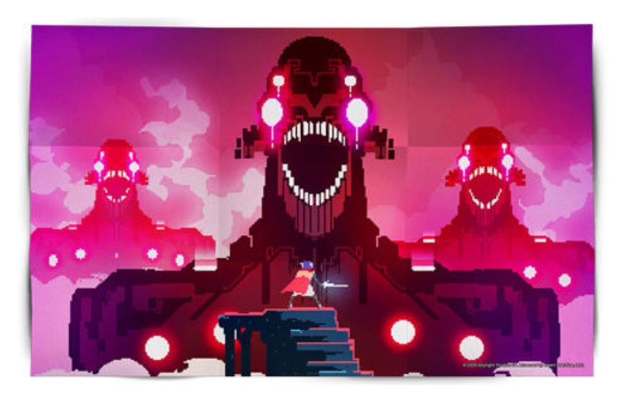 Poster Hyper Light Drifter for Nintendo Switch. Special Edition with Collector's Set in Abylight Shop