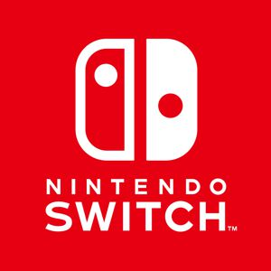 Nintendo Switch logo in Abylight Shop
