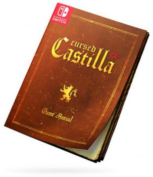 Manual Cursed Castilla for Nintendo Switch. Special Edition with Collector's Set in Abylight Shop
