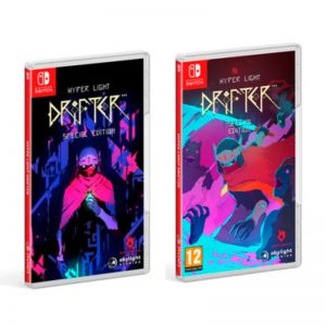 Reversible Inlay Hyper Light Drifter for Nintendo Switch. Special Edition with Collector's Set in Abylight Shop