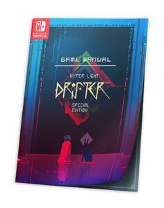 ▷ Hyper Light Drifter – Edición Especial. Set de Coleccionista para Nintendo Switch | Abylight Shop | Tienda de Productos de Abylight Studios.