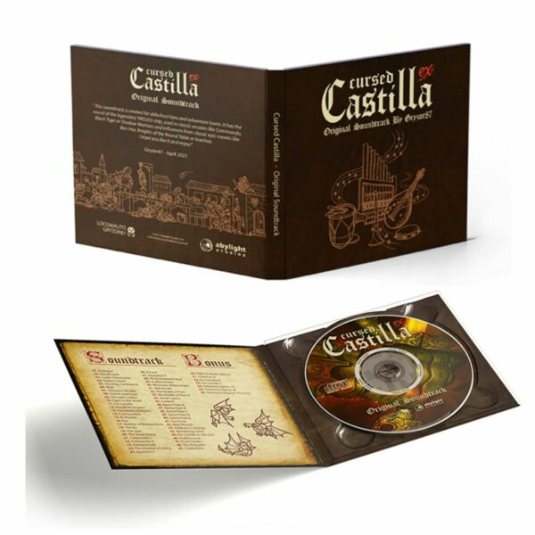 Banda Sonora de Cursed Castilla para Nintendo Switch. Edición Especial con Set para Coleccionistas en Abylight Shop