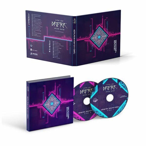 Banda Sonora de Hyper Light Drifter para Nintendo Switch. Edición Especial con Set para Coleccionistas en Abylight Shop