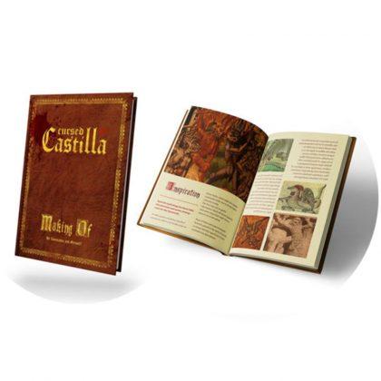 Libro del Making-Of de Cursed Castilla para Nintendo Switch. Edición Especial con Set para Coleccionistas en Abylight Shop