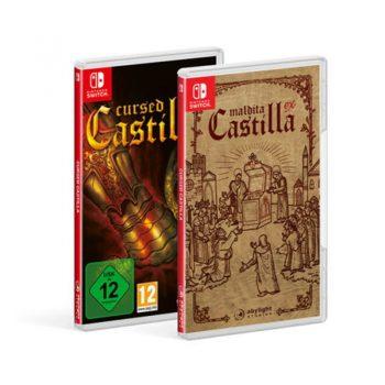 Portadas Reversibles de Cursed Castilla para Nintendo Switch. Edición Especial con Set para Coleccionistas en Abylight Shop